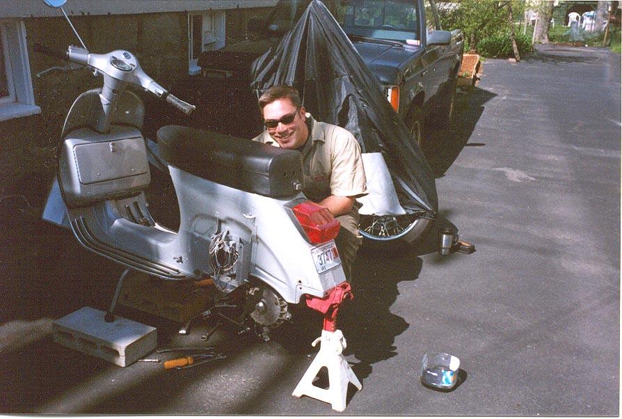 Motor Scooter Repair